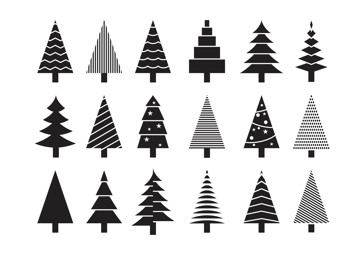 Sapin icons vector download free vector art stock graphics images - Sapin clipart ...