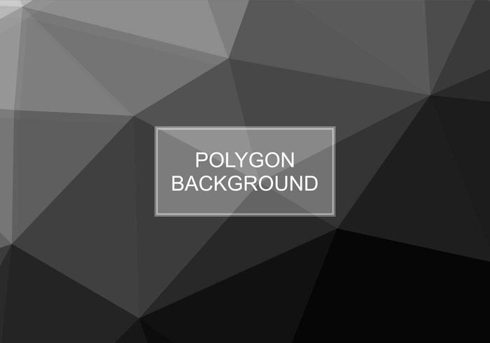 Free Vector Grey Polygon Background