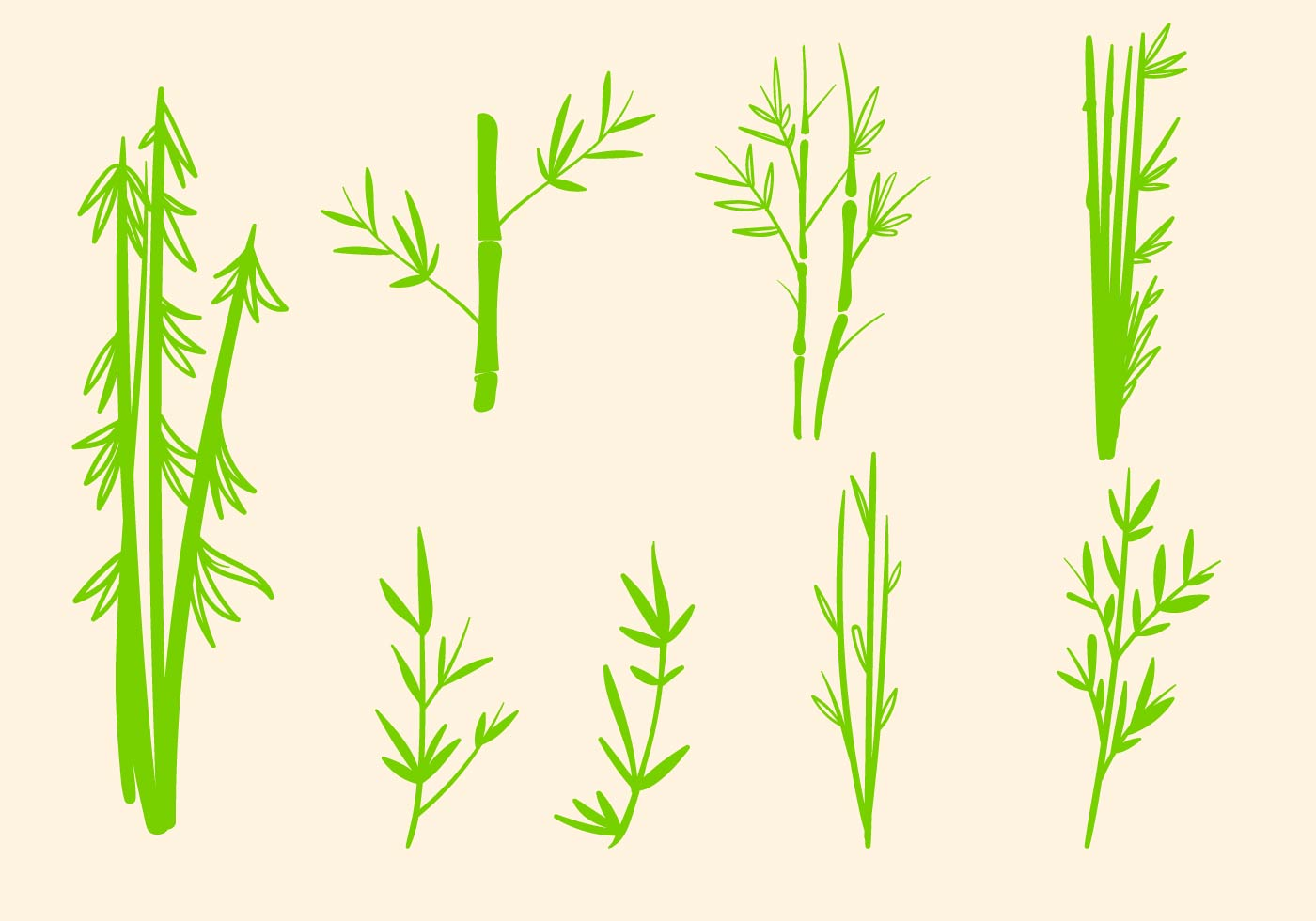free bamboo vector download free vector art stock