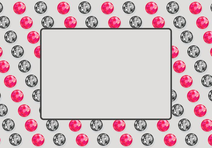 Rhinestone Background Template