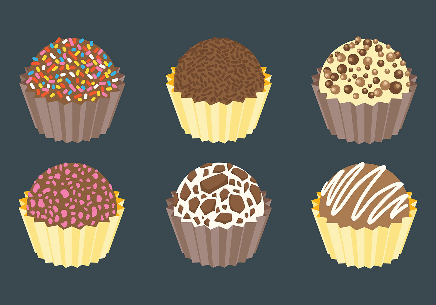 Brigadeiro Free Vector Art 72 Free Downloads