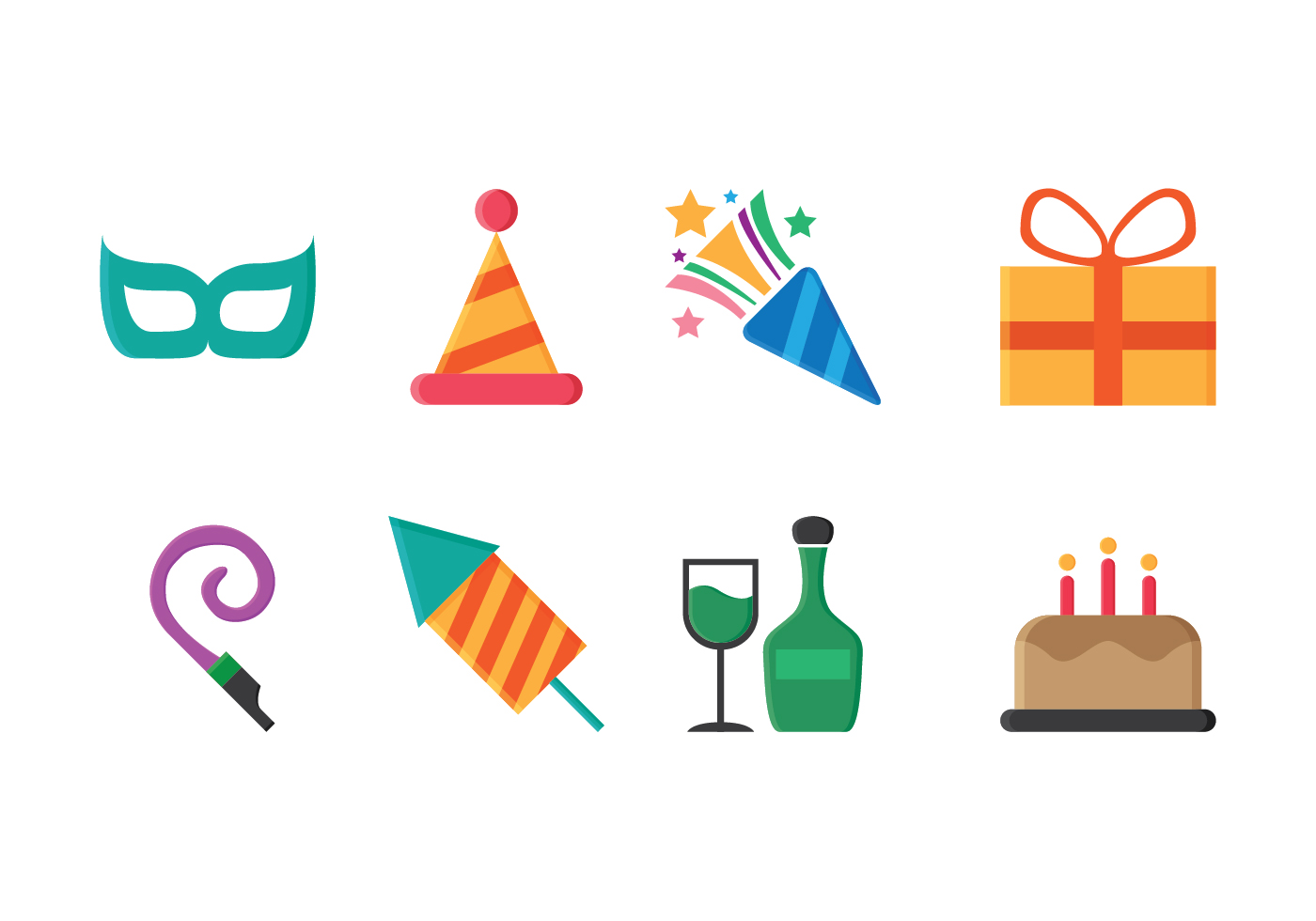 Free Party Icons - Download Free Vector Art, Stock ...