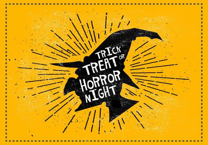 Ilustración vectorial de Halloween gratis