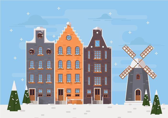 Christmas Netherlands Vector