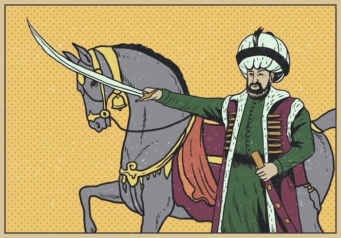 Retrato del sultán