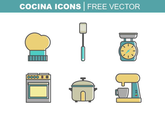 Cocina Gratis Vector