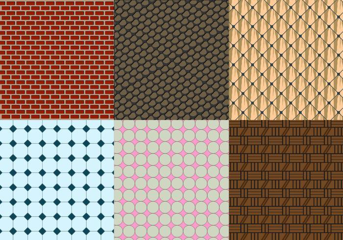 Masonry and Tile Free Vector