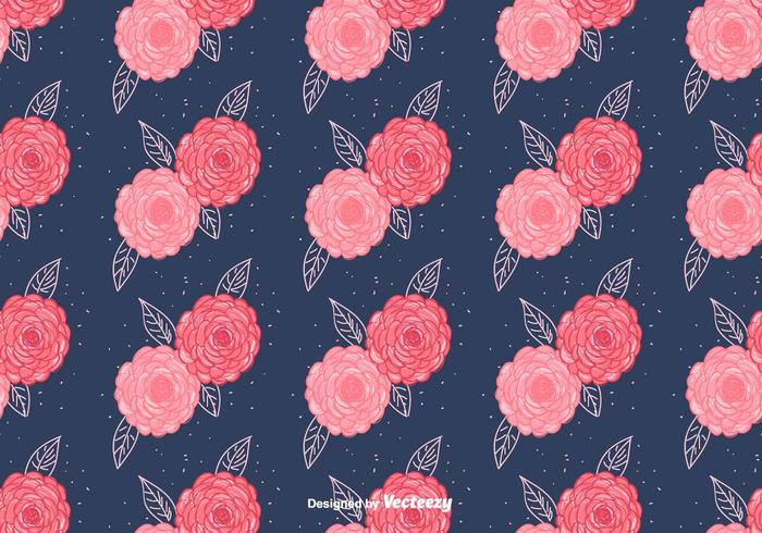 Free Camellia Vector Pattern