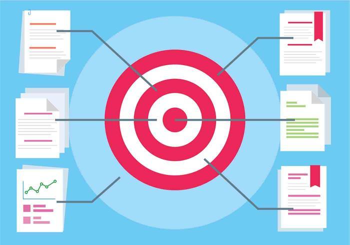Free Flat Design Vector Target