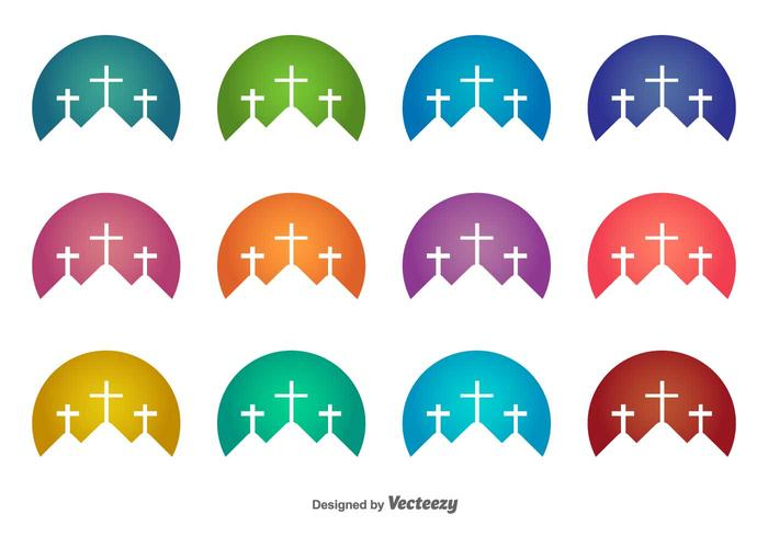 Holy Week Vector Icons - Download Free Vector Art, Stock Graphics ...