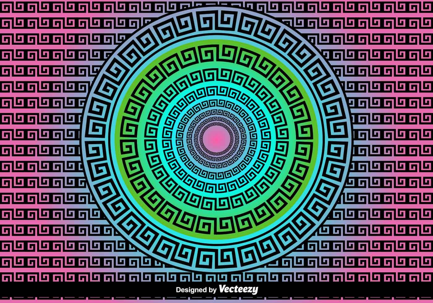 Versace Greek Vector Background Download Free Vector Art
