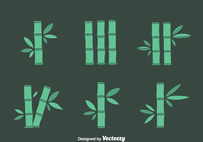 Bamboo Vector Set