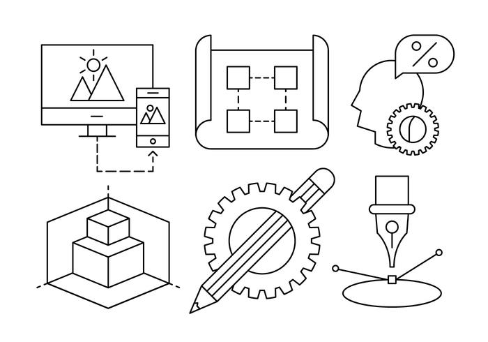 Free Architecture Vector Icons