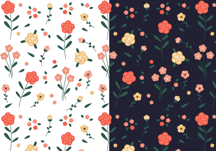 Free Vintage Floral Pattern Download Free Vector Art Stock