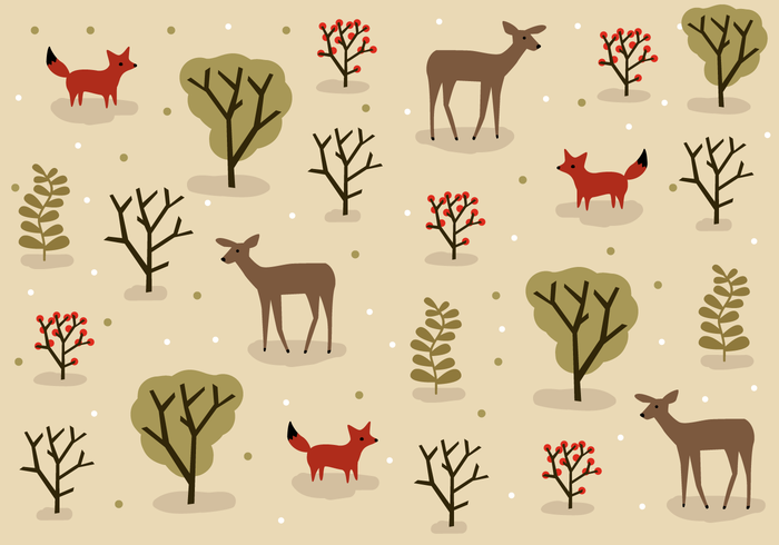 Free Forest Animals Vector