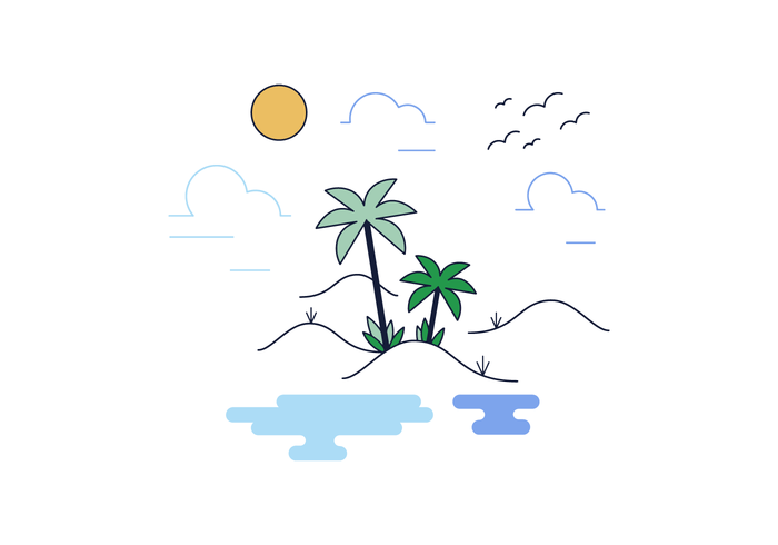 Free Oasis Vector