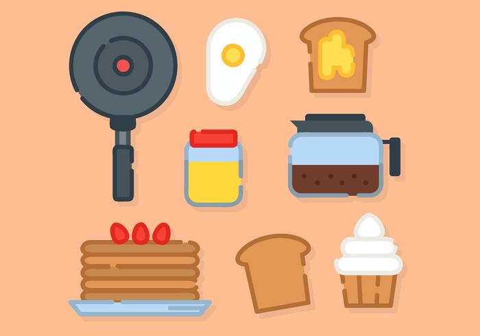 El desayuno vector libre de Alimentos