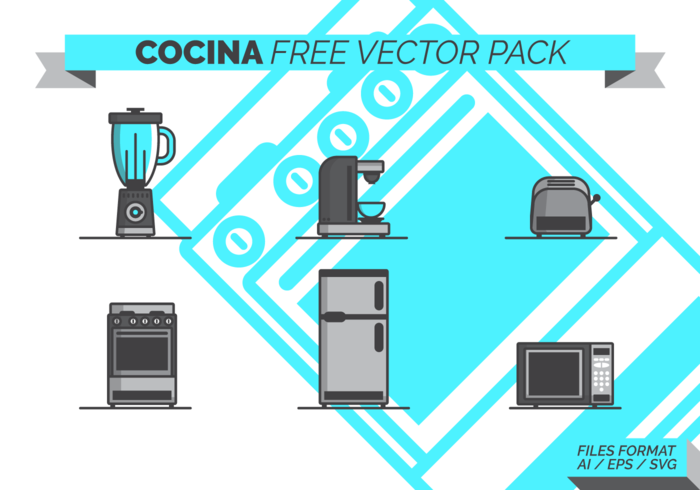 Cocina Free Vector Pack
