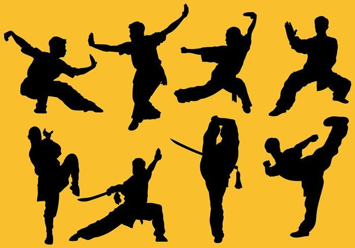 Free Wushu Icons Vector