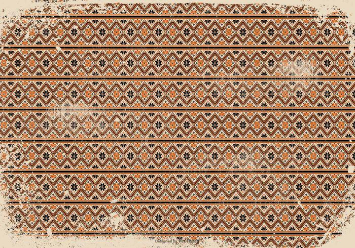 Vintage Grunge Pattern Background