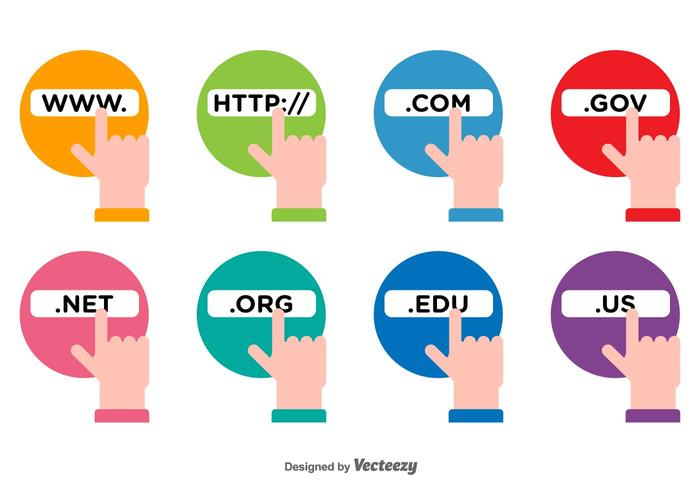 Address Bar Vector Icons