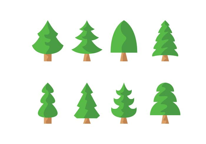 Gratis Pine Trees Vector Download Gratis Vectorkunst En Andere
