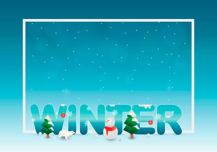 Sapin Winter Template