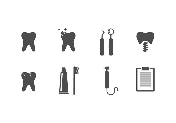 Free Dentistry Vector Icons