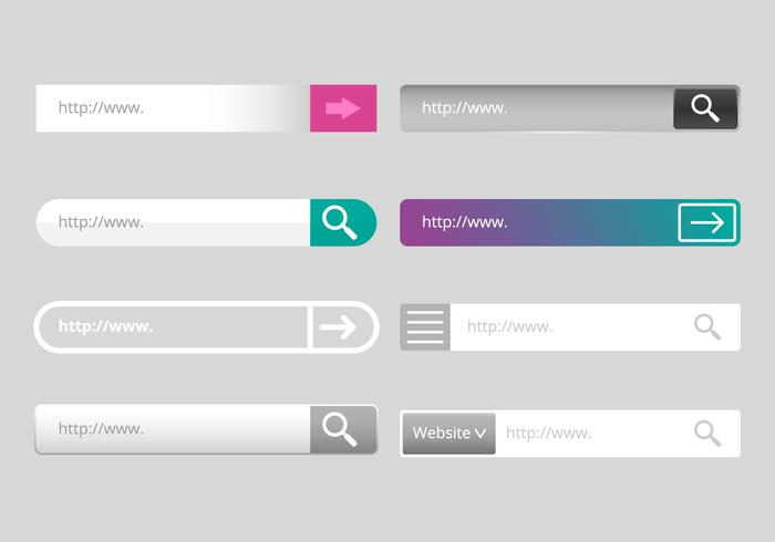 Gratis Address Bar Vector
