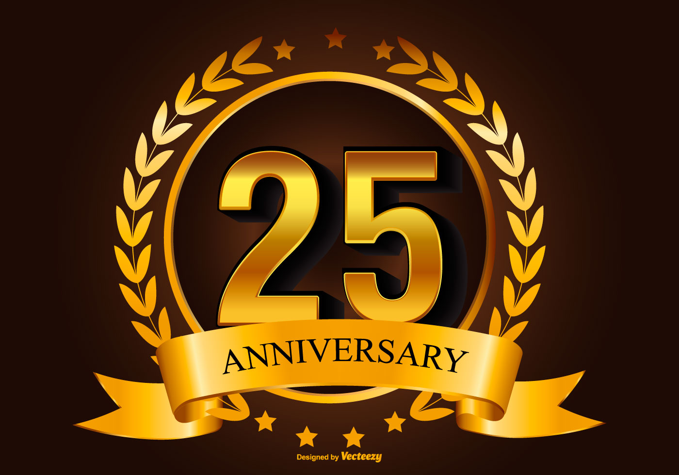 25th anniversary free vector art  1368 free downloads 25th Anniversary Frame 25th Anniversary Graphics