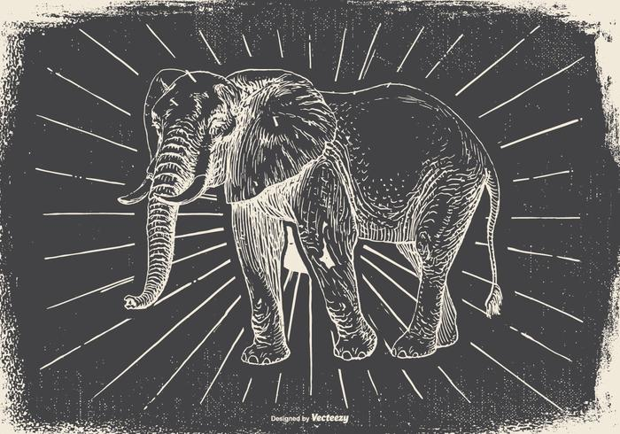 Vintage Elephant Illustration - Download Free Vector Art ... Vintage Elephant Illustration