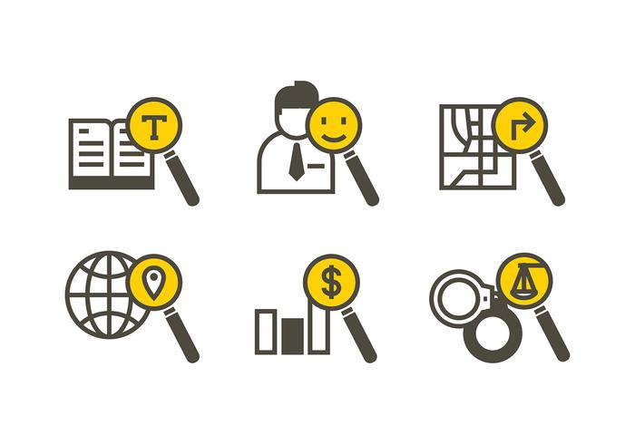 Lupa Icon Search Free Vector