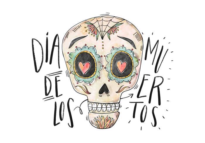 Dia De Los Muertos Illustratie vector