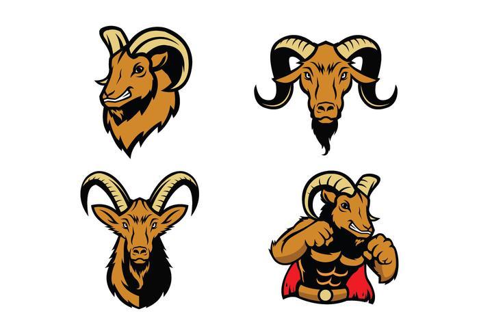 Free Rams Vector