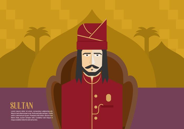 Sultan bakgrund