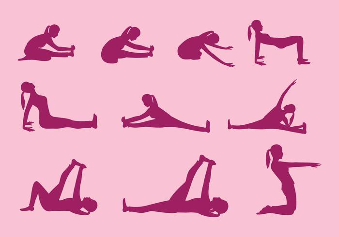 Yoga Pose Vectors
