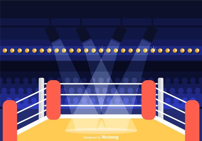 Ring De Boxeo Vector Power Point