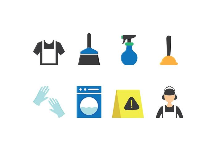 Free Maid Icon Set