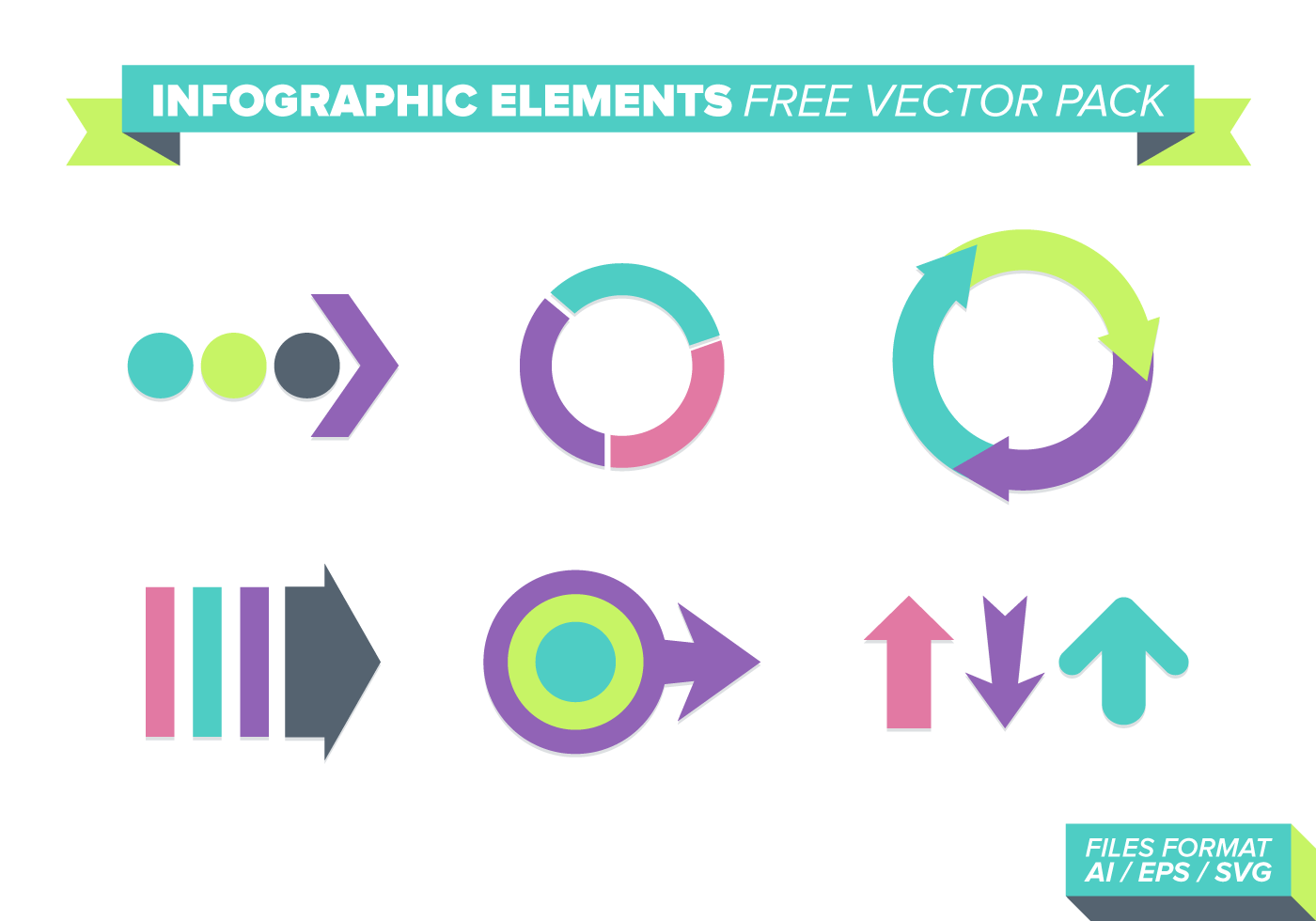 Infographic Elements Free Vector Pack - Download Free ...