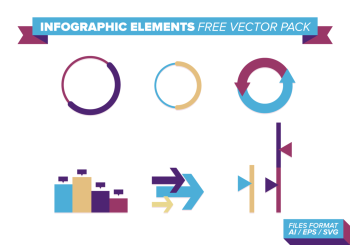 Infographic Elements Pack Vector gratuit