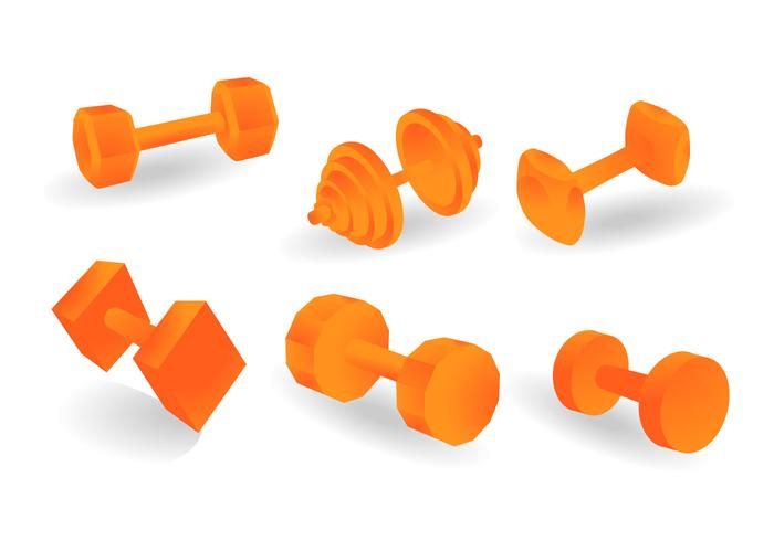 Kostenlose Dumbell Vector Illustration