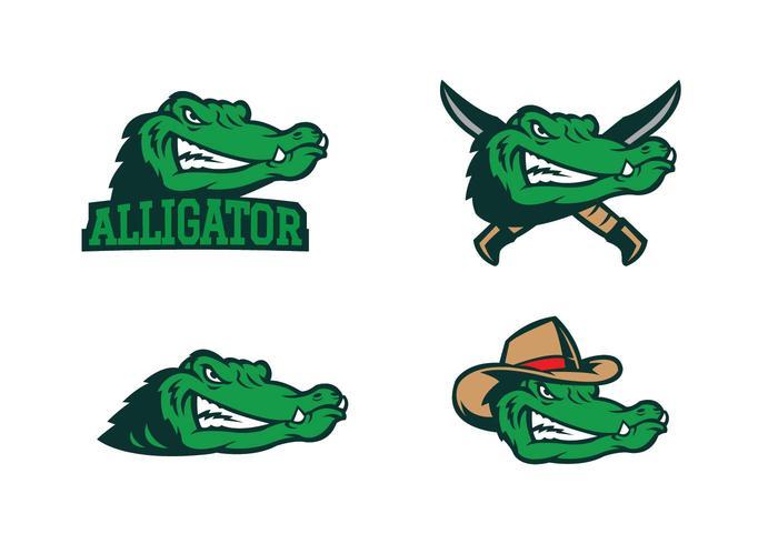 Gratis Alligator Vector