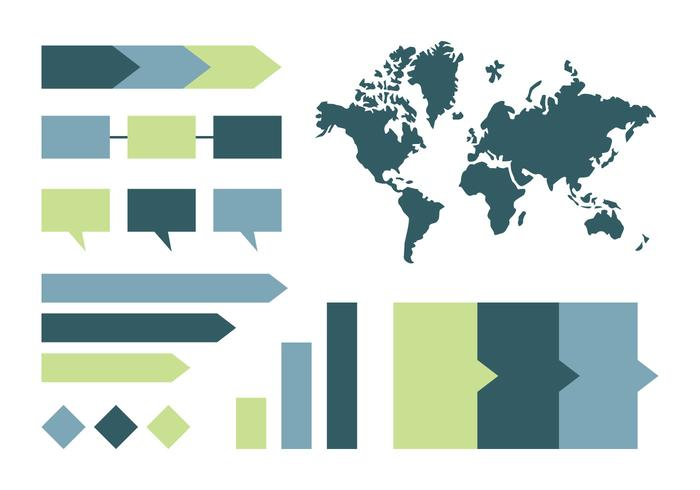infographic mall vektor