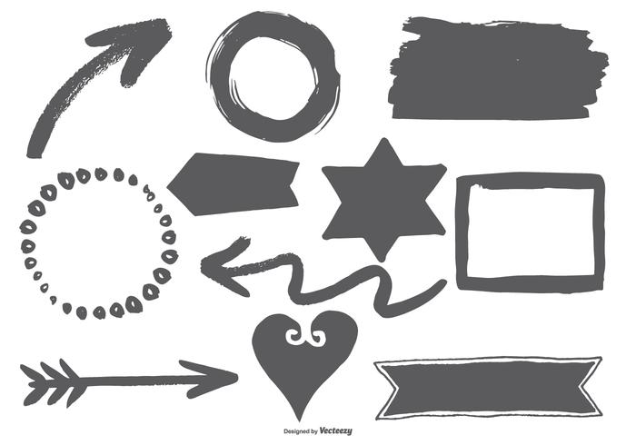 Hand Drawn Style Vector Elements