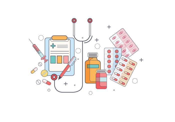 Prescription Pad Vektor