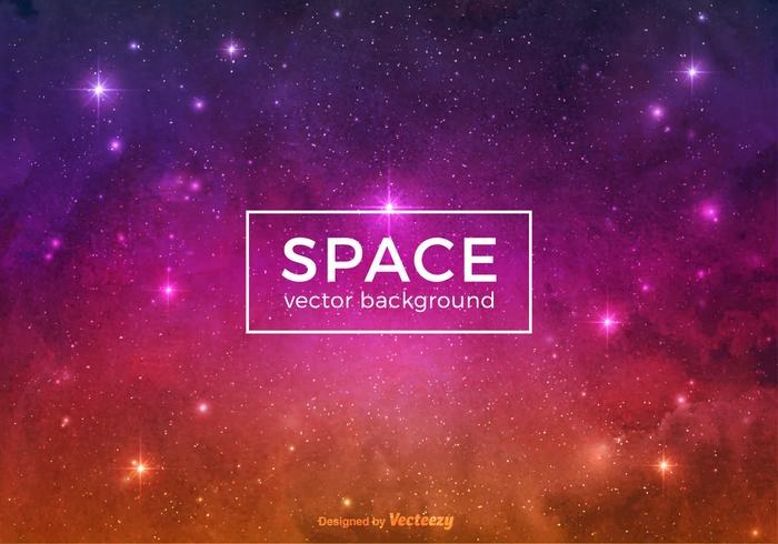Colorful Space Vector Background