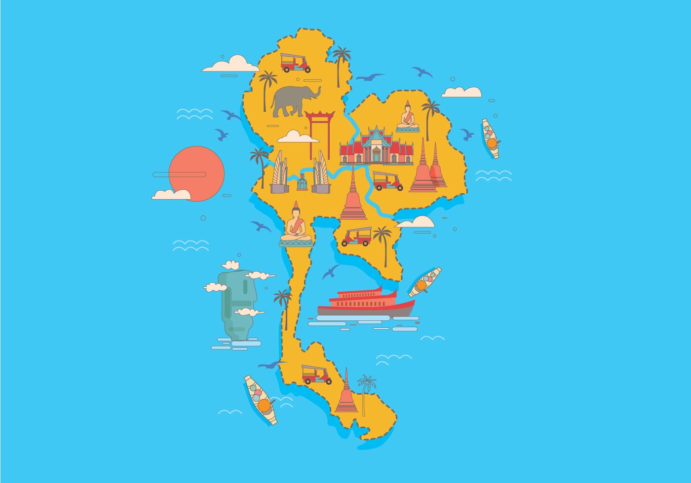Thai Map Free Vector Art - (12,776 Free Downloads)