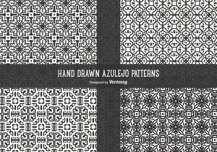 Azulejo Patterns Vector Pack