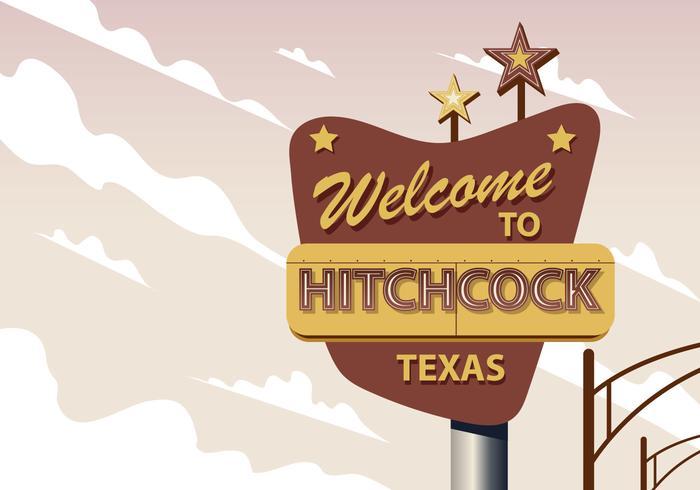 Välkommen till Hitchcock Texas