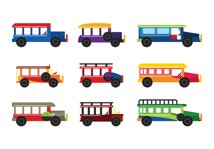 Jeepney Vector Download Free Vector Art Stock Graphics Images